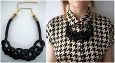 DIY- Collar de Lazo / Rope Necklace