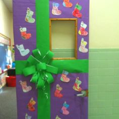 My classroom door for Christmas!