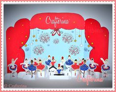 Patriotic Ballet Playtime Tableau Printable Craft by Crafterina, $3.99  www.Crafterina.Etsy.com