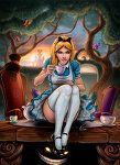 Alice in Wonderland by *VinRoc on deviantART alice in wonderland, fairi tail