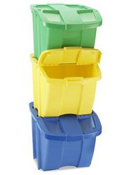 Recycling bins. Need these.
