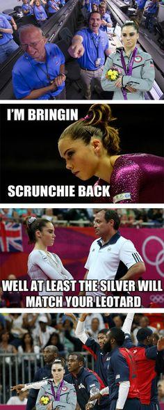 McKayla Maroney Is Only 'Kinda' Impressed // See more McKayla Maroney Memes #Olympics