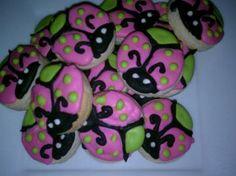 Mini Ladybug Cookies (Four Dozen) by CakeItToTheLimit for $20.00