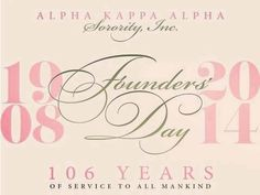 Oh... Alpha Kappa Alpha! Dear... Alpha Kappa Alpha! #106years #TH