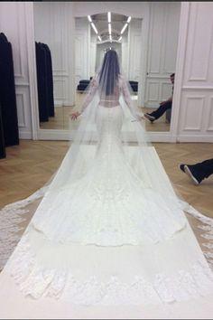 Kim K's dress is a new classic.