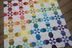 Lighthouse Quilt Top by Fresh Lemons Quilts : Faith