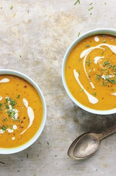 Golden Beet Soup wit