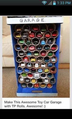 Keep all those cars organized