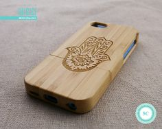 Wood iPhone 5C case  Bamboo iPhone 5C case  Natural Wood by wicici, $23.99
