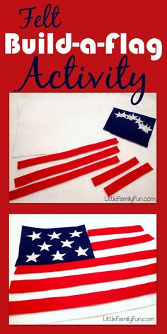 Little Family Fun: Felt Build-a-Flag