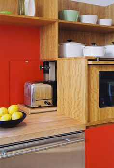 toaster cubby