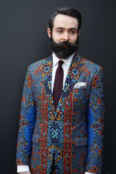 Drent de Man suit, the colors.