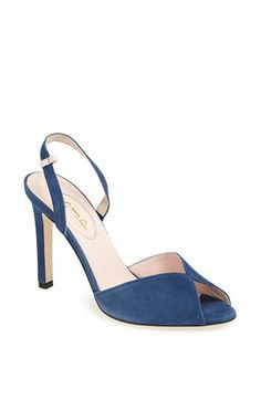 SJP 'Slim' Peep Toe Pump (Nordstrom Exclusive) available at #Nordstrom