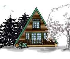 House plans on pinterest timber frame houses timber for Self build kit home designs
