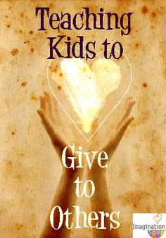 teach your kids how to be generous and give to others