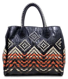 Jet Ikat Tote | Awesome Selection of Chic Fashion Jewelry | Emma Stine Limited