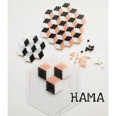 Hama diy hama, penny rugs, craft, pattern, holiday ornaments, hama perler, geometric designs, perler beads, hama bead