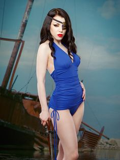Delores Swimsuit — Kiss Me Deadly  (Lady Morgana)