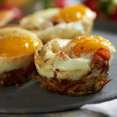 Bacon and Egg Cups - Recipe and Instructions... looks yummy!
