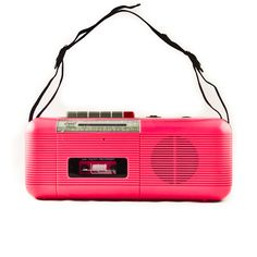I've got my red one from back in the day! Vintage Tape Player and Radio.
