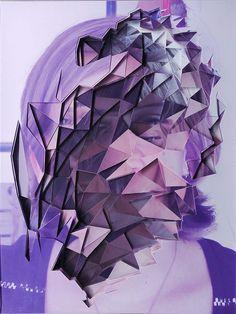 LUCAS SIMOES - collage #purple