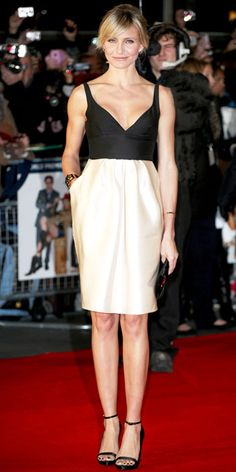 Look of the Day - November 8, 2012 - Cameron Diaz in Stella McCartney from #InStyle