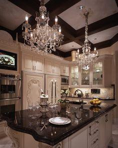 Elegant Kitchen! Beth Whitlinger Interior Design
