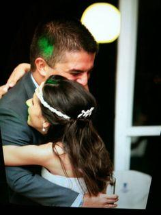 Con mi amiga Laura en su boda.