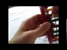 How to Loom Knit a Hexagon Blanket