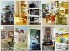 10 Gorgeous Home Offices in Small Spaces.