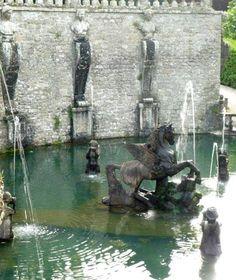 Villa Lante water gardens - Italy