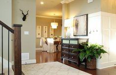 house tours, decor, plant, idea, entri, paint colors, mini manor, manor blog, entryway