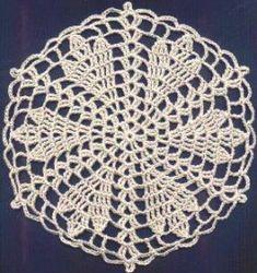 flower doili, tablecloth, torch flower, crochet doili, flower motif, star flower