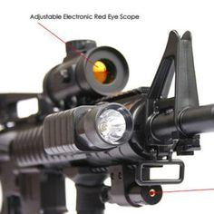 Heavy M4 M16 Replica Airsoft Gun M83 A2 Semi andFull Automatic Electric Rifle