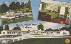 Wagon Wheel Motel & Resort, Prints and Photographs, LVA.