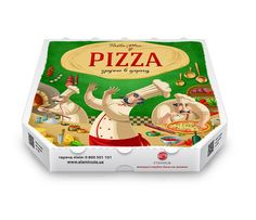 Pasta Mia Pizza Box on Packaging of the World PD