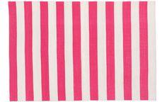 Madeline Reinwib hot pink versa rug