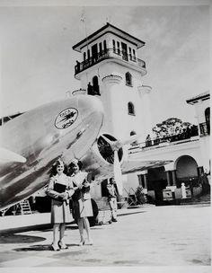 Fotografias antiguas de Costa Rica. Antiguo aeropuerto de la Sabana,