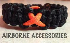 Leukemia Awareness  Black with orange by AirborneAccessories, $5.50