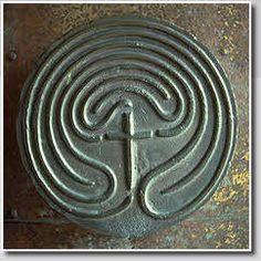Church & Cathedral Labyrinths: St. Regnus' Church, Burt, England.  Photo Jeff Saward/Labyrinthos