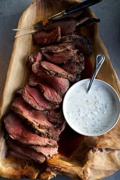 Grilled Leg of Lamb with Warm Spices & Raita + Grilled Carrots with Coriander & Lemon (photography by Jody Horton)