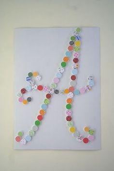 DIY : Cuadros con los tapones de las botellas de plástico