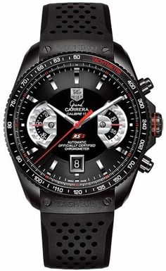 TAG Heuer Men's CAV518B.FT6016 Grand Carrera Automatic Chronograph Watch from TAG Heuer @ TAG-Heuer-Watches .com