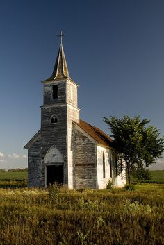 Old Midwest Church