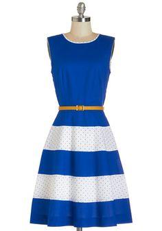 Belt it, layer it, love it. Meet the versatile LBD: Little Blue Dress!