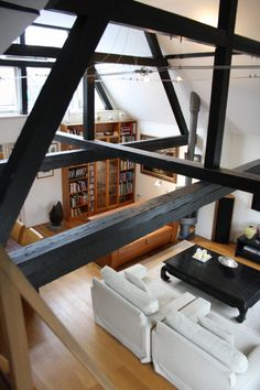 Inner city loft apartment in Hague, The Netherlands