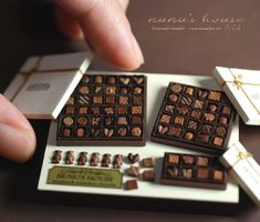 Chocolate gifts #miniature