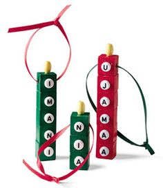 bead candles for #kwanzaa - Re-pinned by @PediaStaff – Please Visit http://ht.ly/63sNt for all our pediatric therapy pins