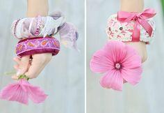 Bracelet fabric - Pulsera de tela