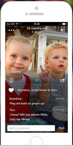 Lifecake photo app is a digital timeline and journal of your kids' lives